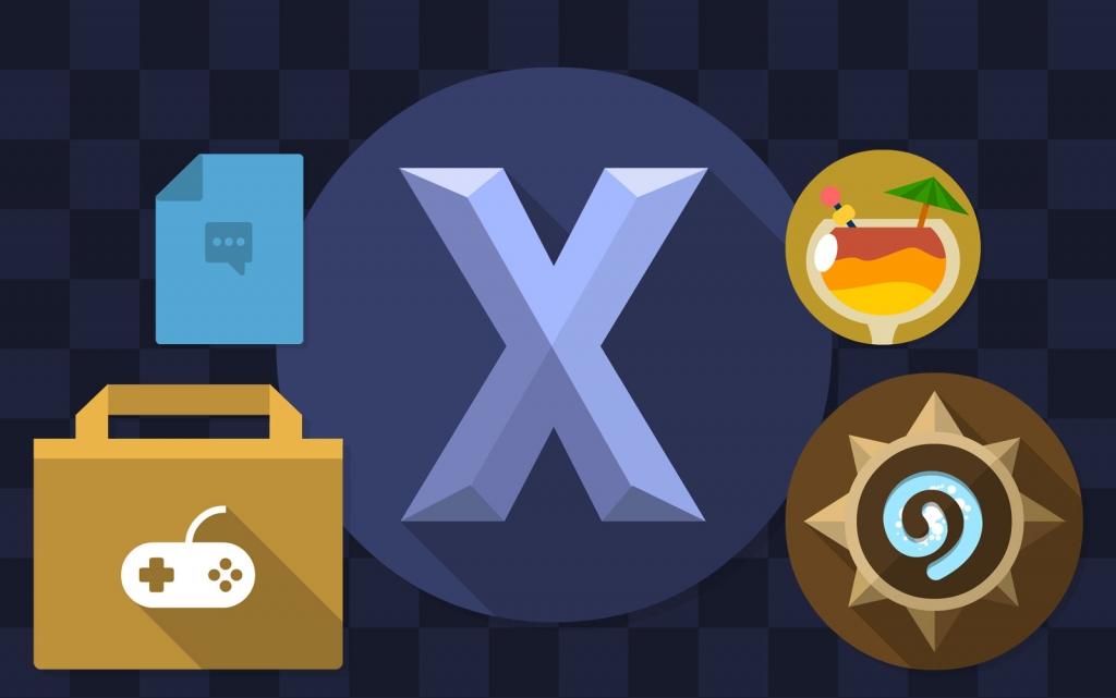Iconos Flat para OSX